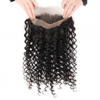 Brazilian Deep Wave 360 Lace Frontal