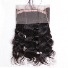 Virgin Indian Hair Body Wave 360 Frontal