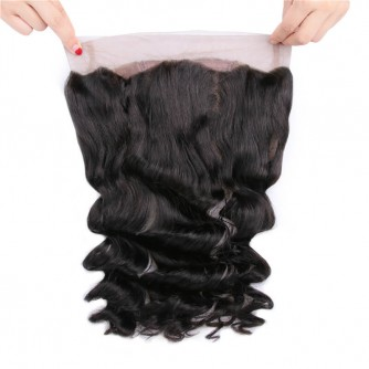 Virgin Indian Hair Loose Wave 360 Frontal