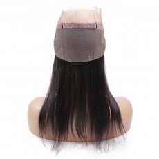 Virgin Malaysian Hair Straight 360 Frontal