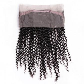 Virgin Peruvian Hair Kinky Curly 360 Frontal