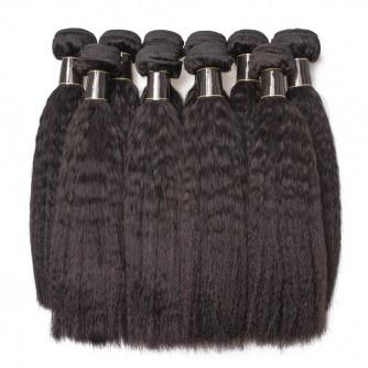 Brazilian Kinky Straight Hair Bundles