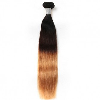 Ombre Hair Extensions Straight 1b/4/27