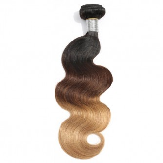 Ombre Hair Extensions Body Wave 1b/4/27