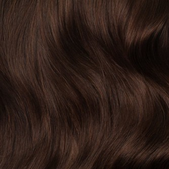 Brazilian Remy Hair Straight #4 Chocolate Brown