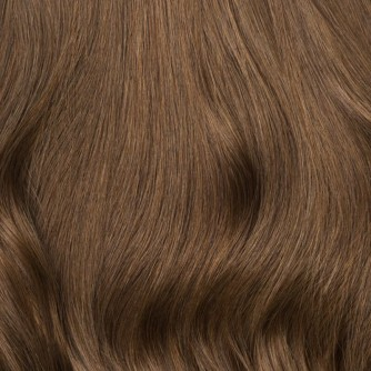 Brazilian Remy Hair Straight #8 Light Brown