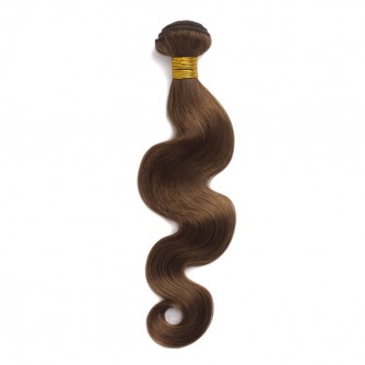 Brazilian Remy Hair Body Wave #8 Light Brown