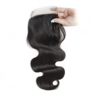 Three Part Indian Body Wave Lace Closure
