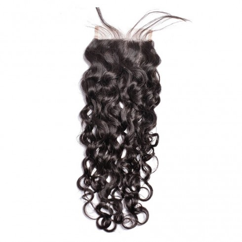 Middle Part Indian Natural Wave Lace Closure
