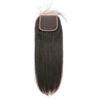 Middle Part Peruvian Straight Lace Closure
