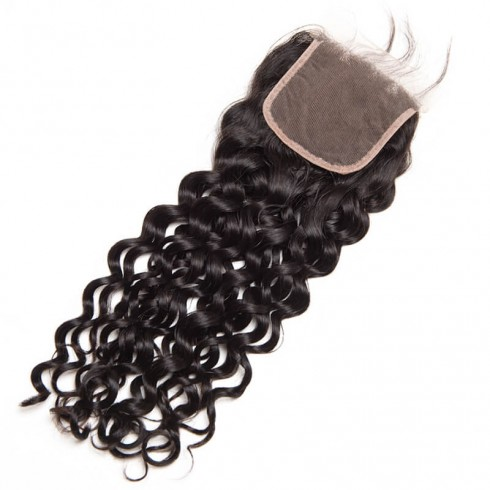 Three Part Peruvian Water Wave Lace Closure