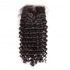 Virgin Brazilian Hair Deep Wave Closure