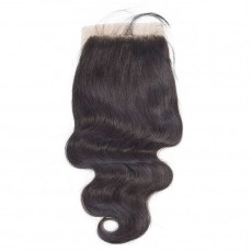 Three Part Brazilian Body Wave Closure