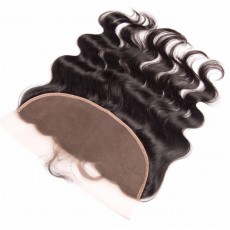 Virgin Peruvian Hair Natural Wave Frontal