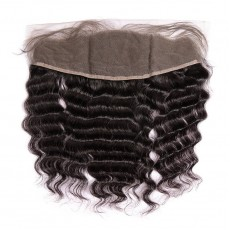 Brazilian Virgin Hair Loose Curly Lace Frontal