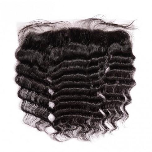 Virgin Peruvian Hair Loose Curly Frontal