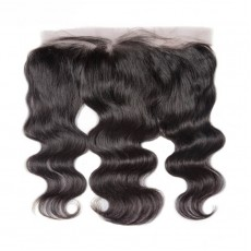 Brazilian Virgin Hair Water Wave Lace Frontal