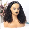 Highlight Color Curly Headband Wigs