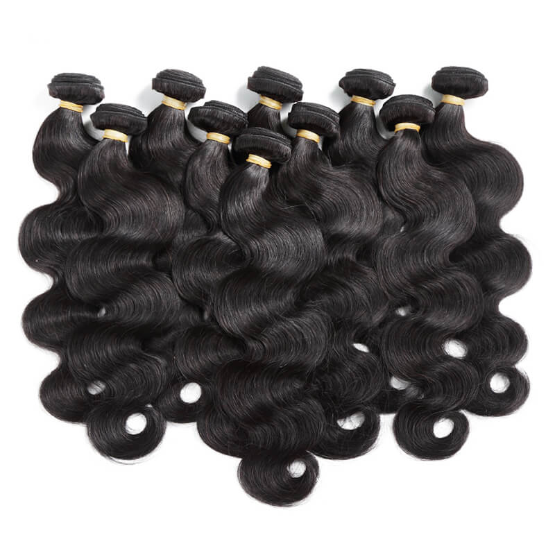 Peruvian Body Wave Virgin Hair Weave