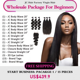 Virgin Hair Package I for Business Beginners