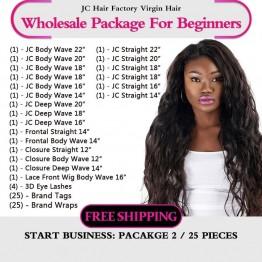 Virgin Hair Package II for Business Beginners