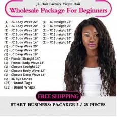 Virgin Hair Package II for Business Beginners
