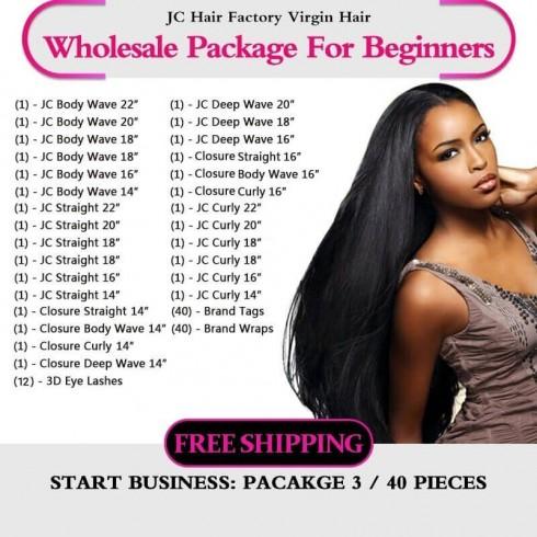 Virgin Hair Package III for Business Beginners