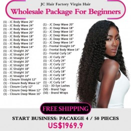 Virgin Hair Package IV for Business Beginners