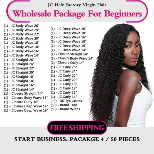 Virgin Hair Package IV for Business Beginners