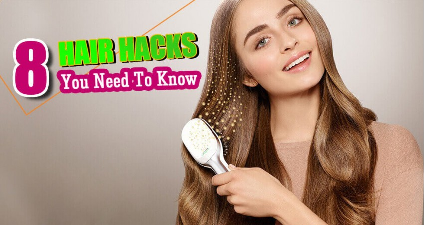 8 Hair Hacks You Need To Know!