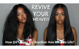 How Do I Bring My Brazilian Hair Back To Life?