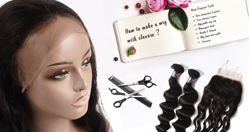 How To Make A Wig With Closure