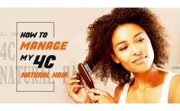4C Natural Hair | How To Manage My 4C Natural Hair