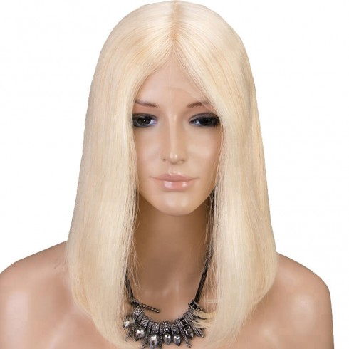 Brazilian Hair Straight 613# Blonde Full Lace Bob Wigs