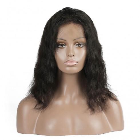 Brazilian Virgin Hair Full Lace Body Wave Bob Wigs