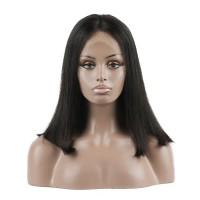 Brazilian Virgin Hair 360 Frontal Straight Bob Wigs