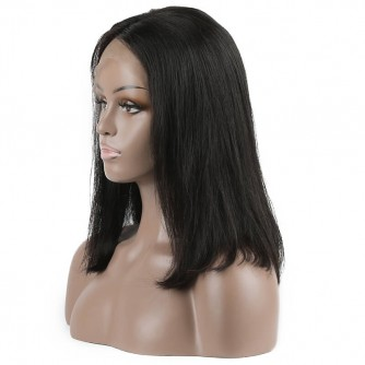 Brazilian Virgin Hair 360 Frontal Straight Bob Wigs