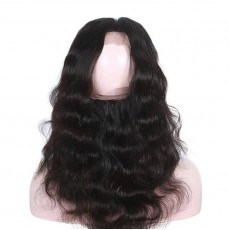 2 Bundles of Brazilian Body Wave Hair with 360 Frontal