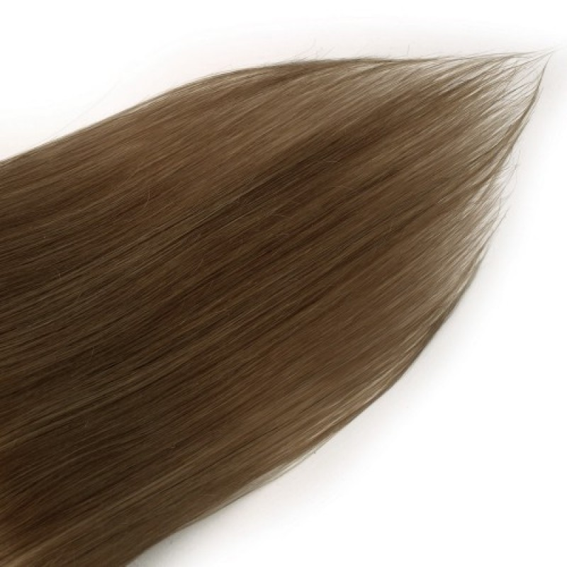 Light Chestnut 8 Straight Clip In Hair Extensions 9 Pcs Jcchbs