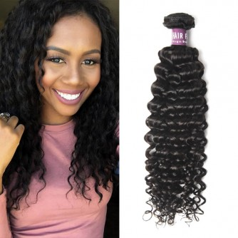 Brazilian Deep Curly Virgin Hair Weave