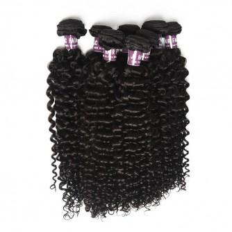 Indian Deep Curly Virgin Hair Weave