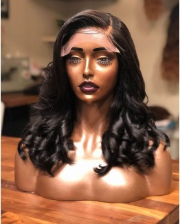 """""""Nora"""" Wavy Hair Lace Front Wigs"""