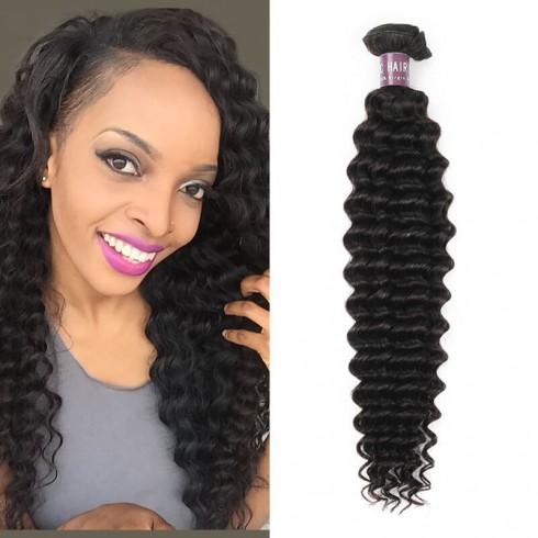 Peruvian Deep Wave Virgin Hair Weave