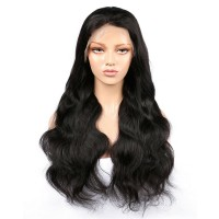 Virgin Hair Brazilian Body Wave Full Lace Wigs