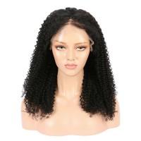 Brazilian Virgin Hair Kinky Curly Full Lace Wigs