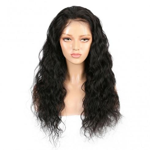 Brazilian Virgin Hair Natural Wave Full Lace Wigs