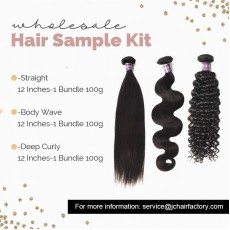 Virgin Hair Sample Pack II - 3 Patterns