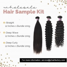 Virgin Hair Sample Pack III - 3 Patterns