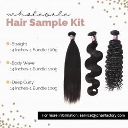 Virgin Hair Sample Pack II - 3 Patterns