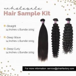 Virgin Hair Sample Pack III - 3 Patterns